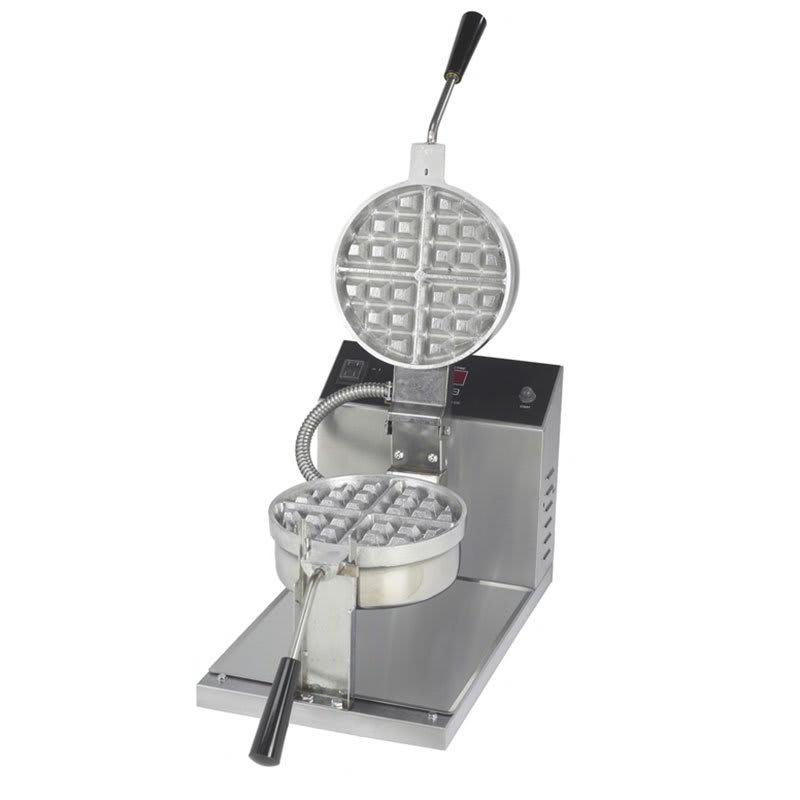 "Gold Medal 5021E Belgian Waffle Baker w/ 7.25"" Fixed Grid & Electronic Controls"