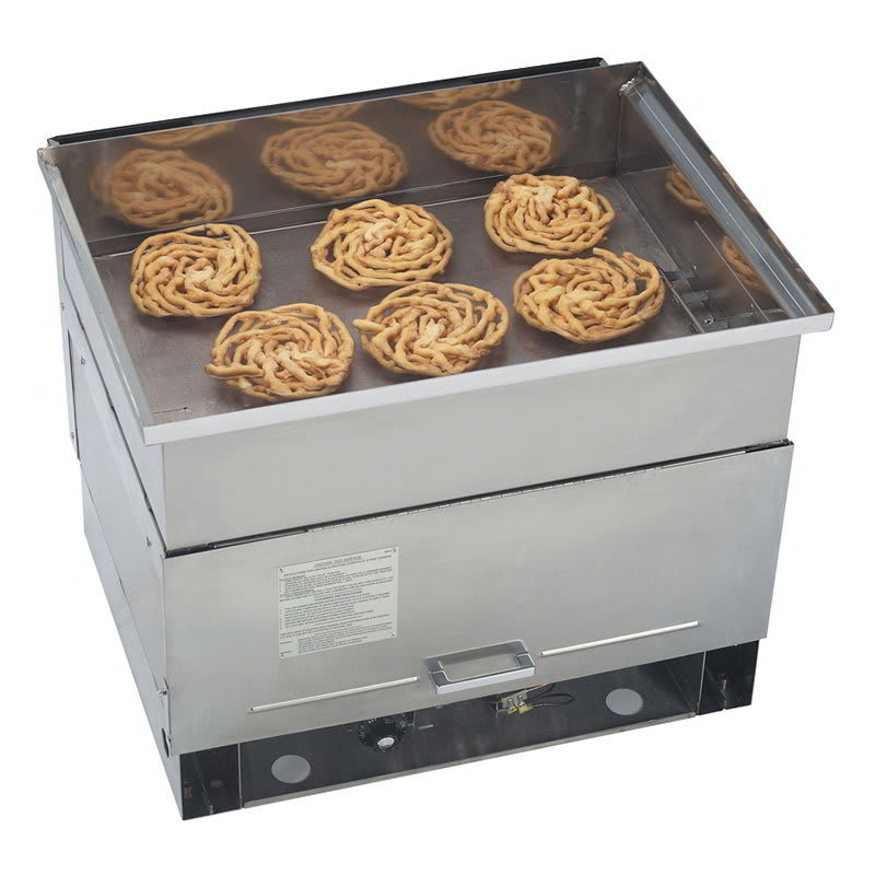 "Gold Medal 5099NS 30"" Gas Funnel Cake Fryer w/ (6) Cake Capacity, LP"
