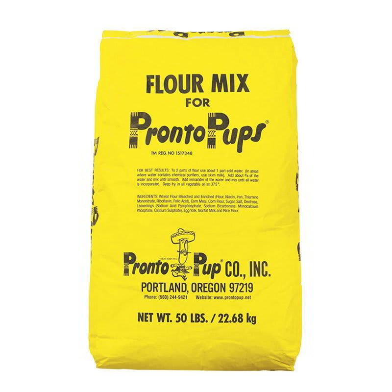 Gold Medal 5117 50-lb Bag Pronto Pup Mix for Corn Dogs