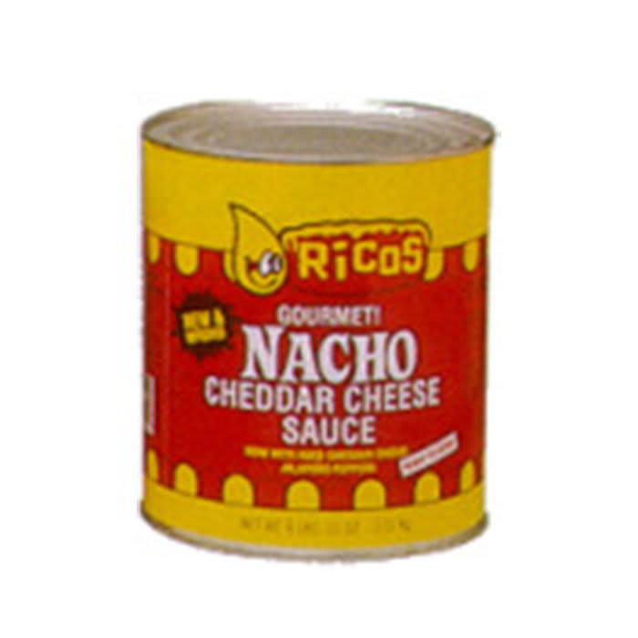 Gold Medal 5261 Ready-To-Use Nacho Cheese Sauce w/ (6) #10 Cans