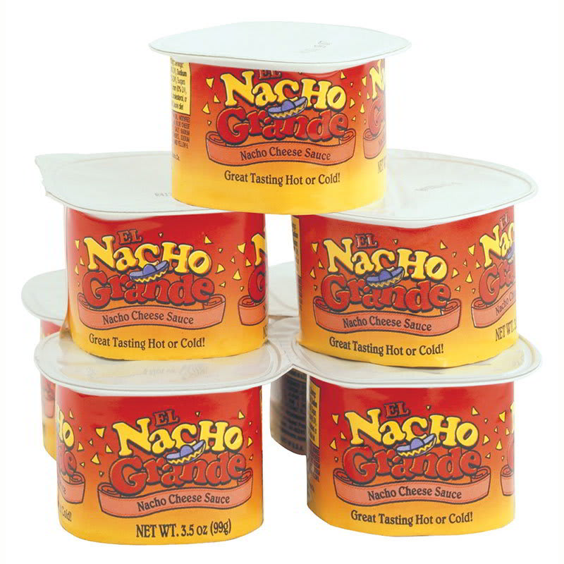 Gold Medal 5277 Portion Pak Nacho Cheese w/ (48) 3.5 oz Cups