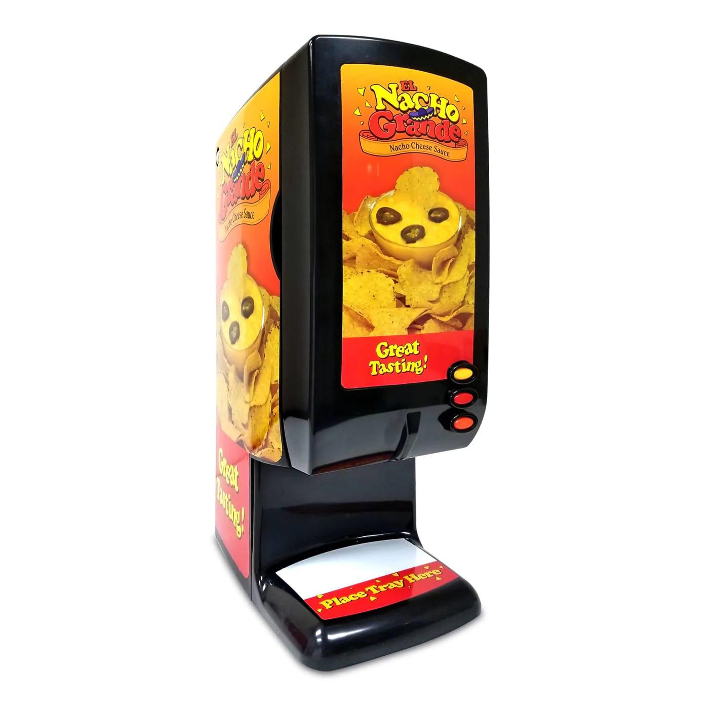 Gold Medal 5300 El Nacho Grande Bag Cheese Dispenser w/ 3 Button & Air-Tight Controls