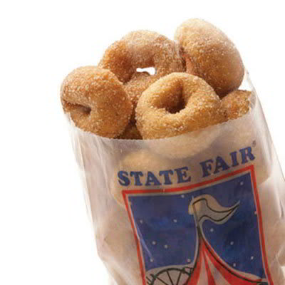 Gold Medal 5411 State Fair Mini Donuts, 8-Tubs w/ 76-Donuts/Tub