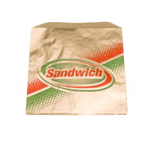 Gold Medal 5439 Disposable Foil Bags for Sandwiches, 1,000/Case
