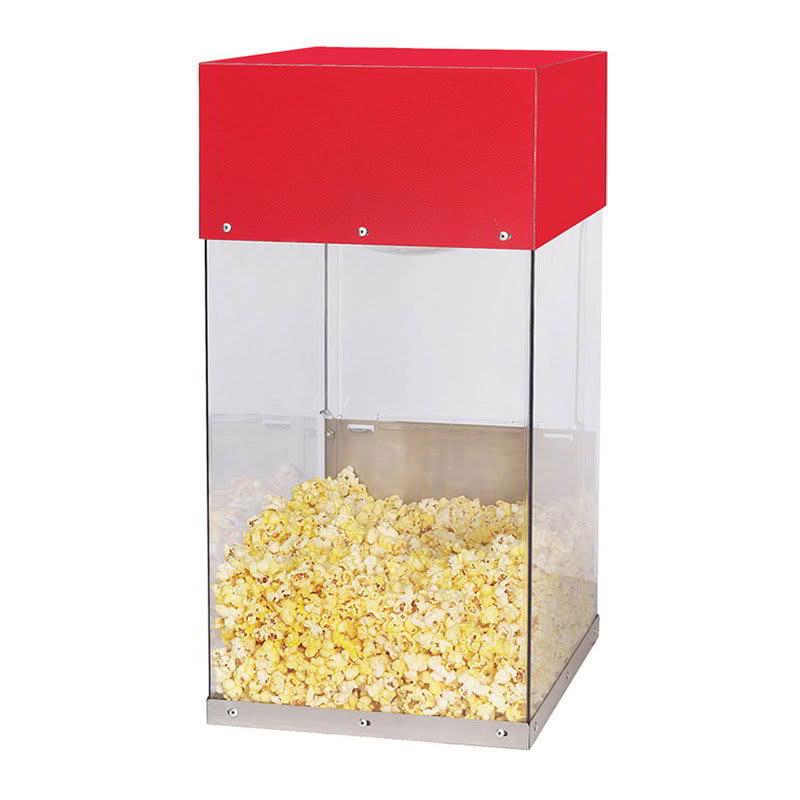 Gold Medal 5508 Popcorn Crisper w/ Single Lamp Warmer & Lexan Cabinet, 120v