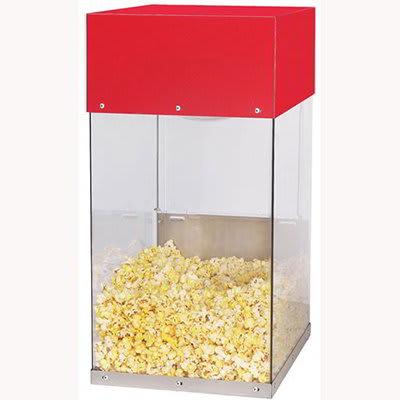 Gold Medal 5509 Popcorn Crisper w/ 2-Lamp Warmers & Lexan Cabinet