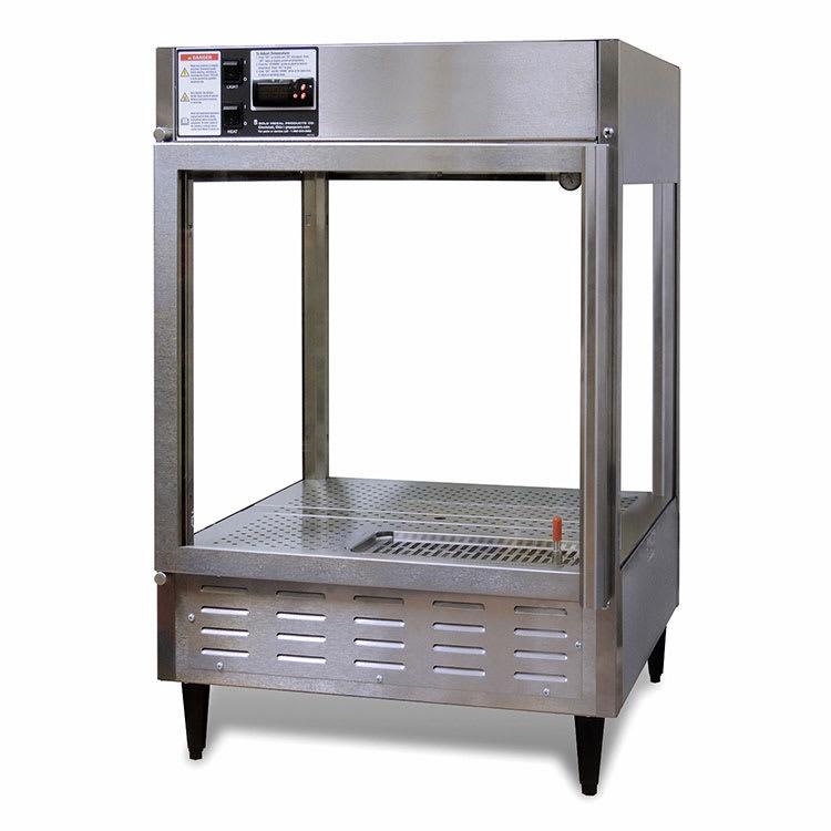 "Gold Medal 5550-00 22.5"" Humidified Pizza/Pretzel Display Cabinet, 120v"