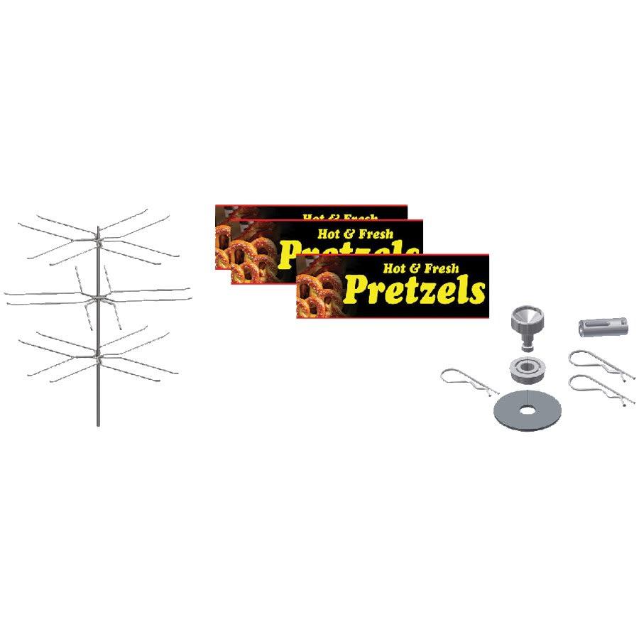 Gold Medal 5553-002 Large Pretzel Cabinet Kit for 5550-00 & 5550-01