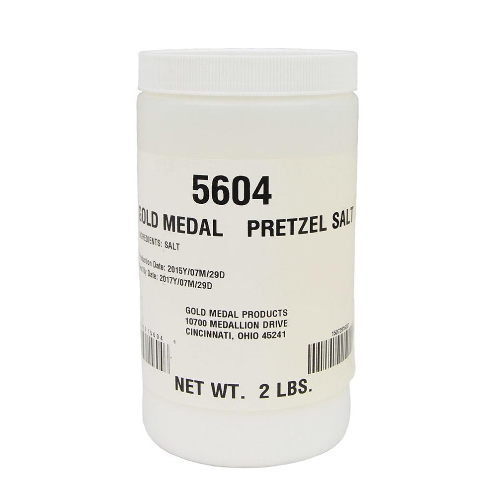 Gold Medal 5604 Pretzel Salt, 2-lb Jar