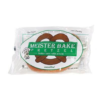 Gold Medal 5629 12-oz Unsalted Meister Bake Soft Pretzels, 48/Case