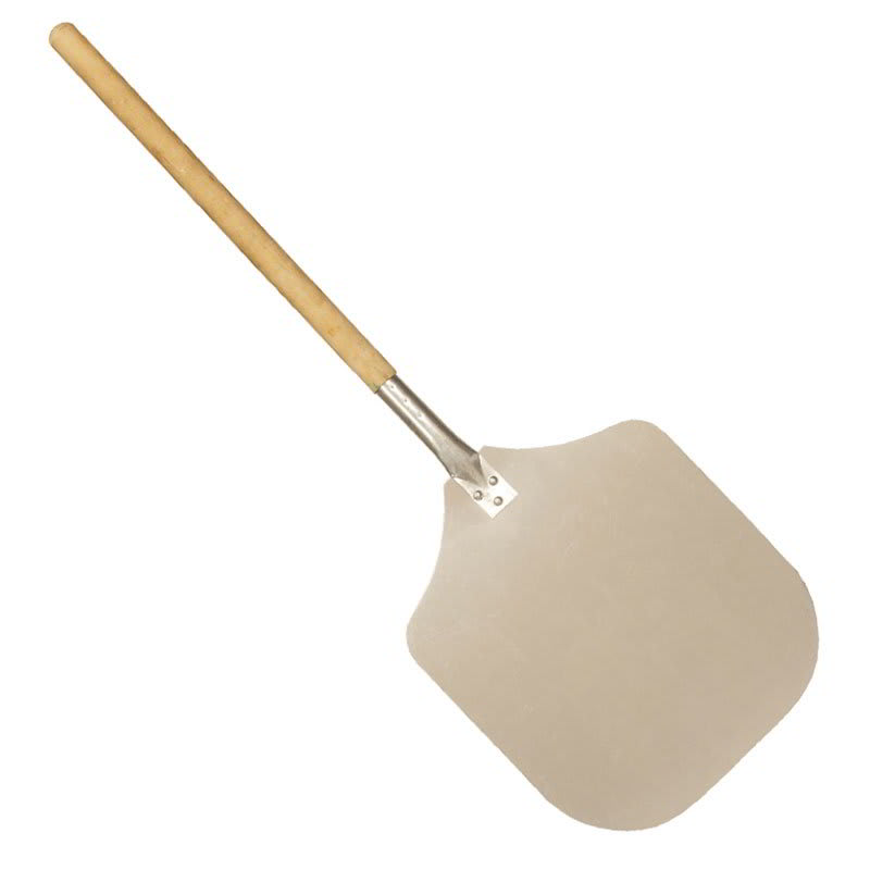 """Gold Medal 5651 12"""" Pizza Paddle w/ Wood Handle"""