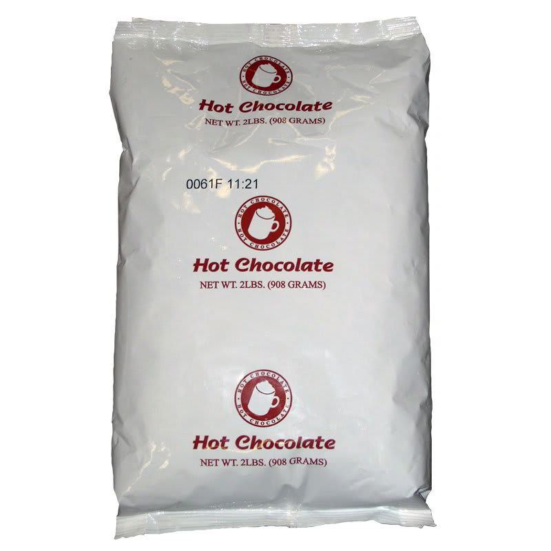 Gold Medal 7037 2 lb Powdered Hot Chocolate Mix, 6 Bags/Case