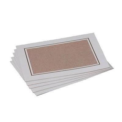 Gold Medal 7738 Card Frames, 2 Bundles of 100/Case