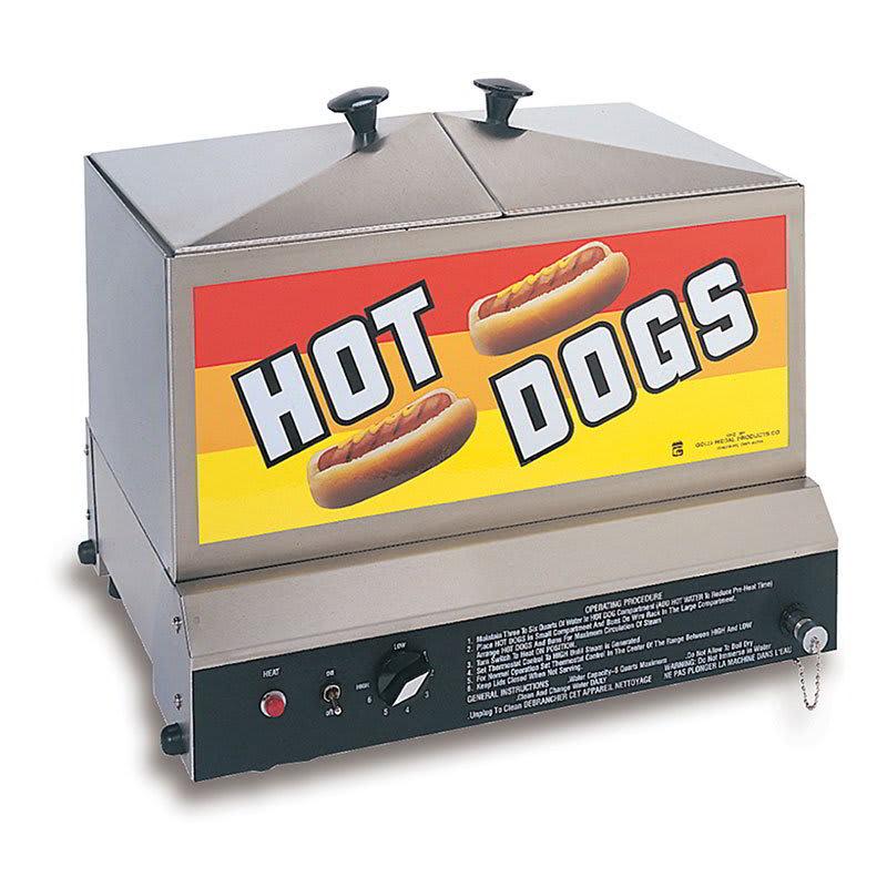 Gold Medal 8007 Steamin Demon Steamer w/ 90-Hot Dogs & 40-Bun Capacity, Stainless