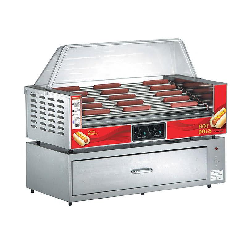 Gold Medal 8025 45 Hot Dog Roller Grill - Flat Top, 120v ...