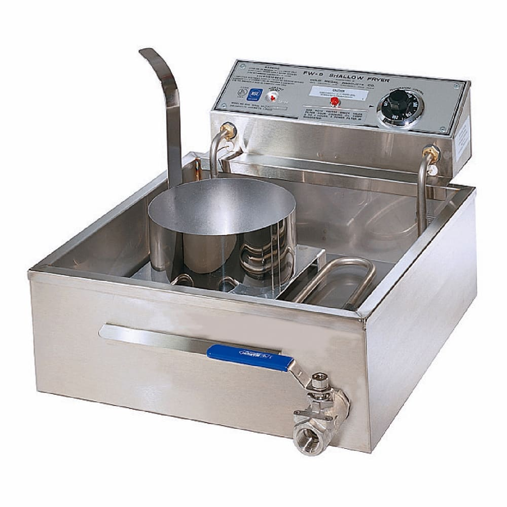 "Gold Medal 8049D 17.5"" Electric Funnel Cake Fryer w/ (3) Cake Capacity, 208 240v/1ph"