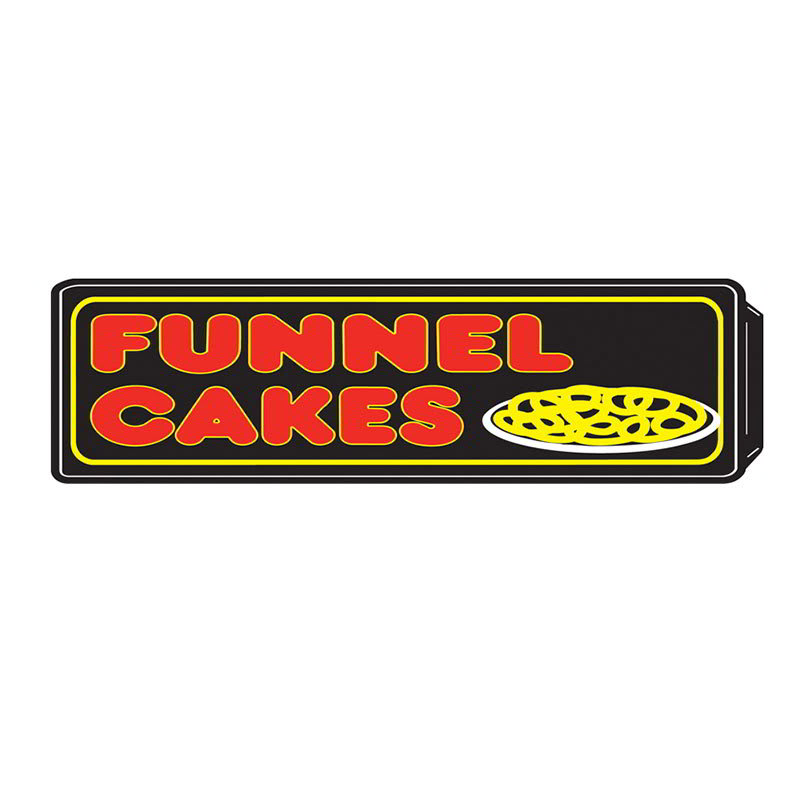 Gold Medal 8084 Funnel Cakes Regular Lighted Sign