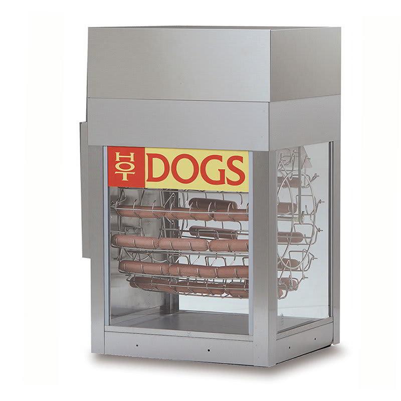 Gold Medal 8102 Dogeroo Cooker w/ 56-Hot Dog & 40-Bun Capacity, Cradle Style