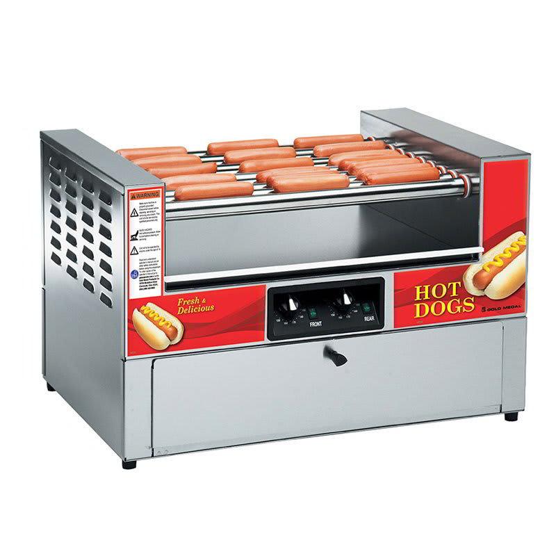 Gold Medal 8323 Diggity Grill & Bun Cabinet Combo w/ 36-Hot Dog & 27-Bun Capacity