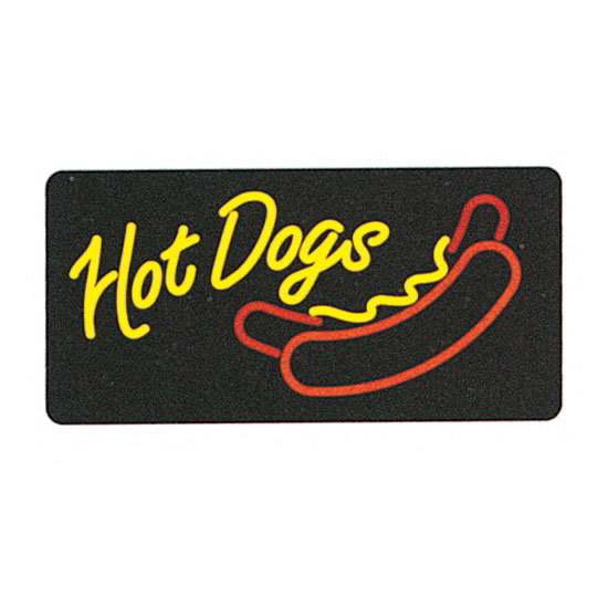 Gold Medal 8984 Hot Dogs Lighted Sign