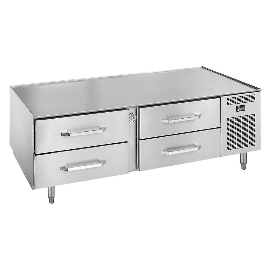 "Randell 20072SC 72"" Chef Base w/ (4) Drawers - 115v"