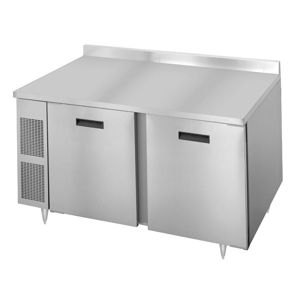 "Randell 9205-32-7 60"" Worktop Refrigerator w/ (2) Sections, 115v"