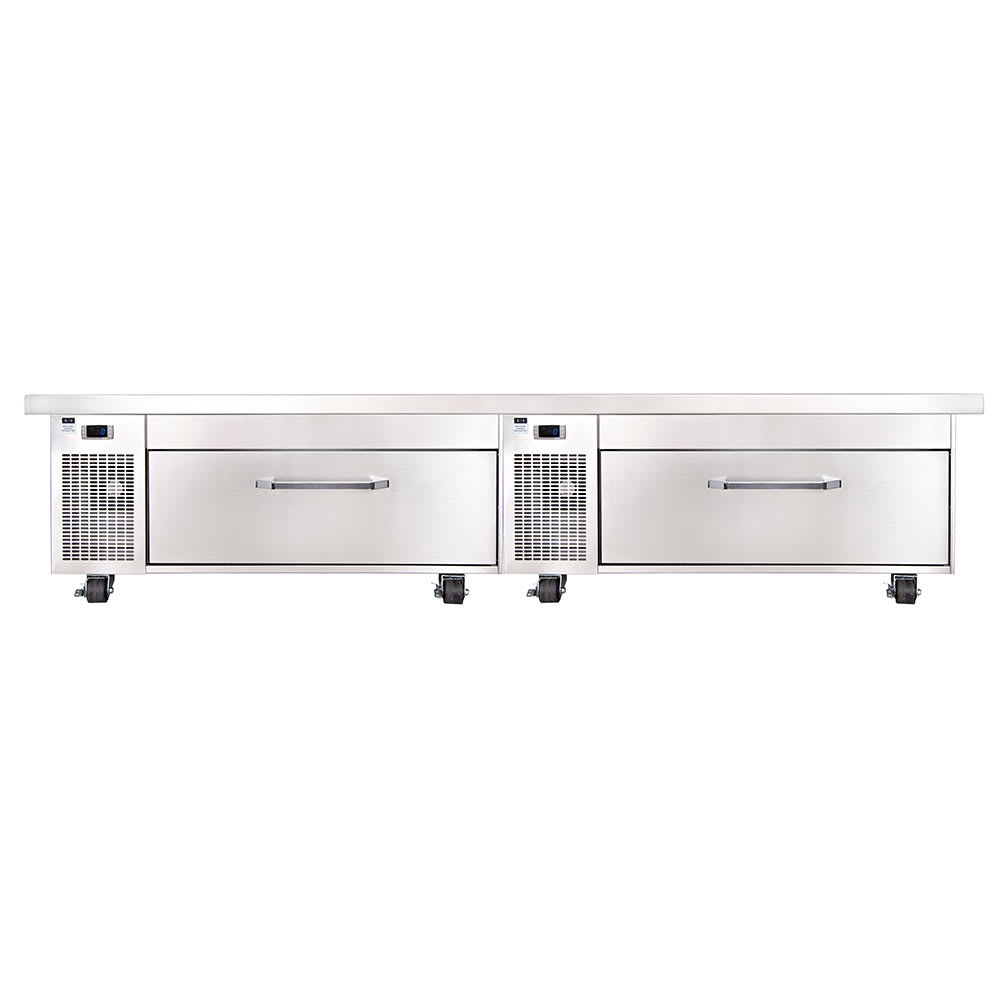 "Randell FX-2CS-290 96"" Chef Base w/ (2) Drawers - 115v"