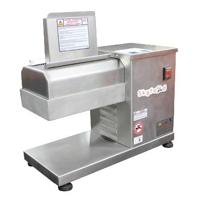 Skyfood ABS Countertop Meat Tenderizer w/ 880 lb/Hr Production - Stainless, 110v