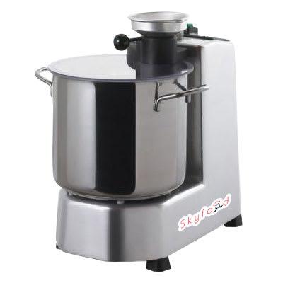 Skyfood CR-5 1-Speed Cutter Mixer Food Processor w/ 5-qt Bowl, 120v