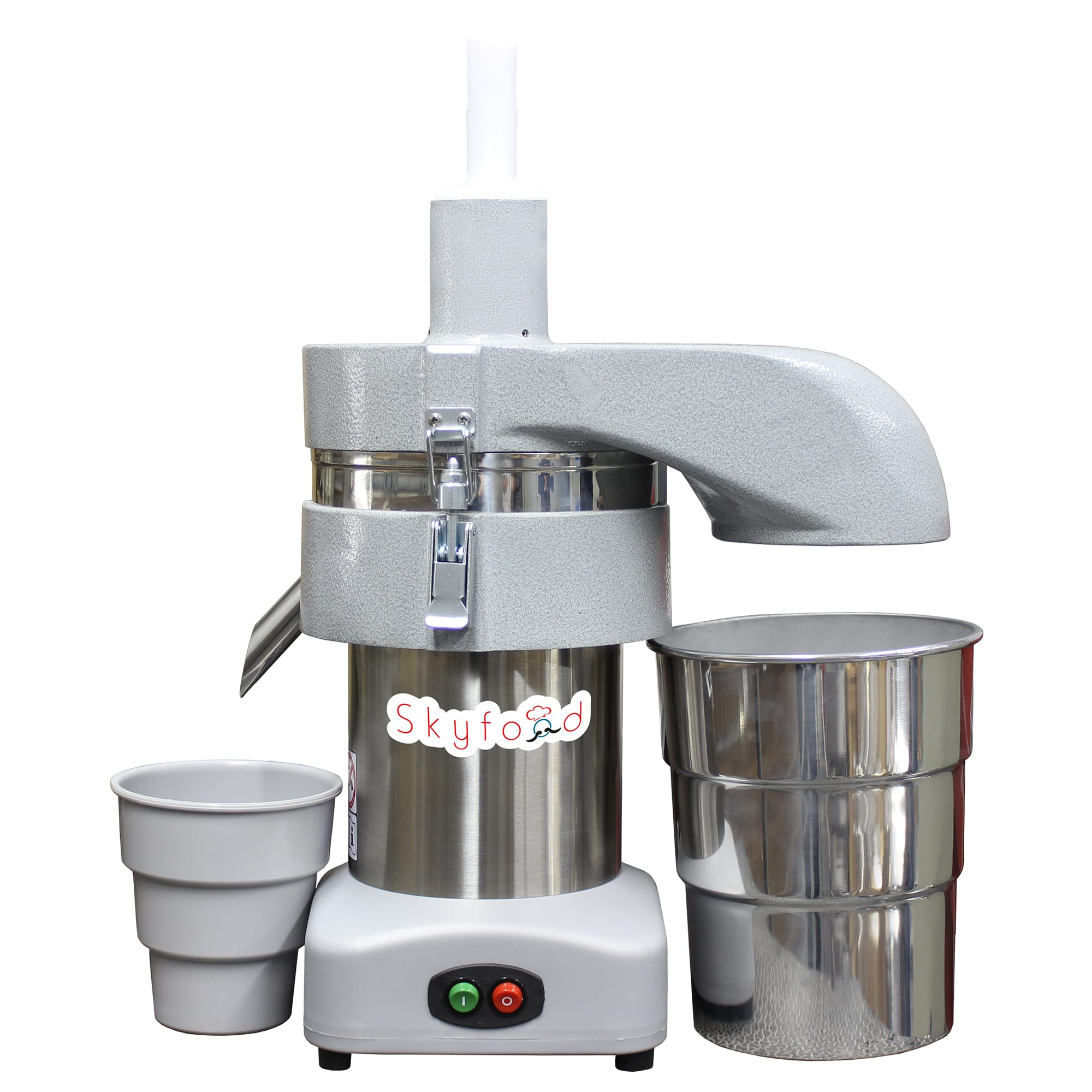 Skyfood CSE1 48 oz Centrifugal Juice Extractor w/ Manual Feeder - Stainless, 127v