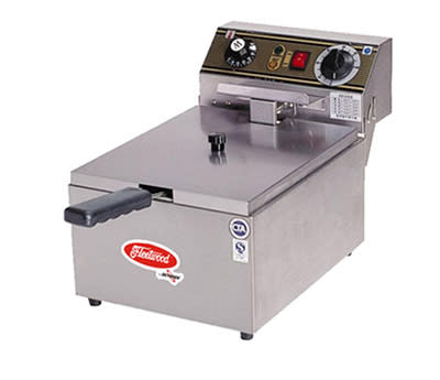 Skyfood EF101-2 Countertop Electric Fryer - (1) 16.5-lb Vat, 220v/1ph