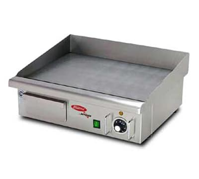 Skyfood EG548 21-in Countertop Grill w/ Single Thermostat, 5/16-in Plate, 110 V