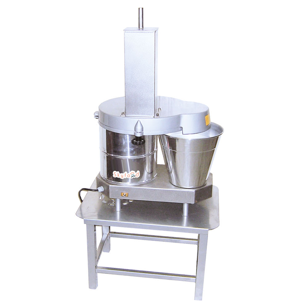 Skyfood PA-141 1-Speed Continuous Feed Food Processor w/ Side Discharge, 110v