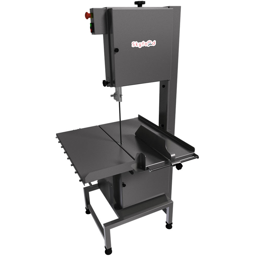 "Skyfood SI-315HDE-2 Heavy Duty Floor Model Meat & Bone Saw w/ 126"" Blade, 16"" Cutting Clearance, 220/3V"