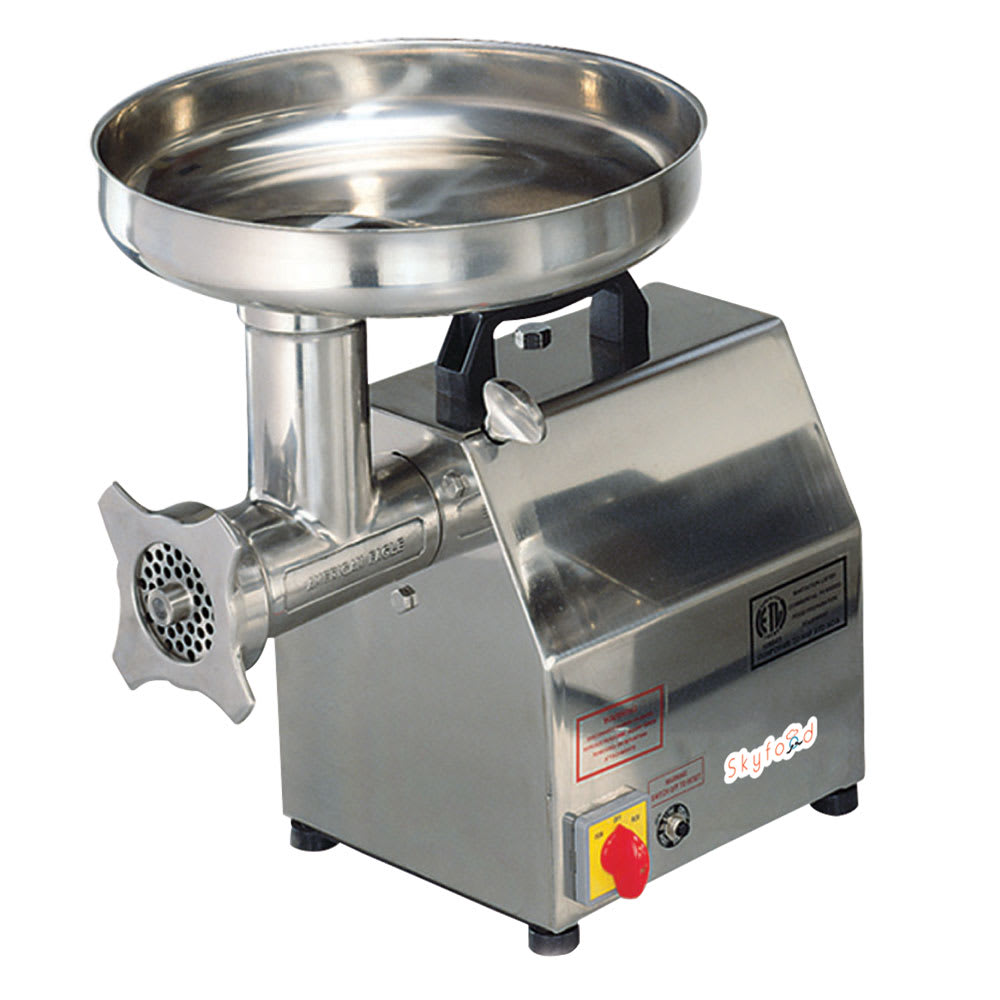 Skyfood SMG12 Meat Grinder w/ 1-hp, 260lbs/hr, Stainless