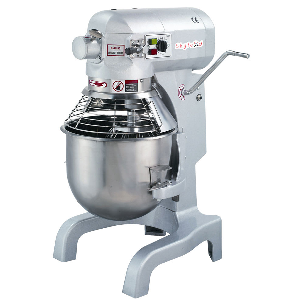 Skyfood SPM20 20 qt Table Top Planetary Mixer w/ 3 Speed, 110v