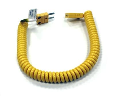"Cooper 10040-K 48"" Coiled Retractable Extension Cable"