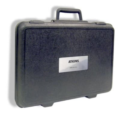 """Cooper 14245-1 Hard Carrying Case w/ Label, 12 x 17 x 3.5"""""""