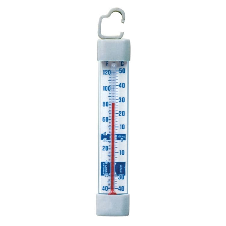 Cooper 330-0-4 Refrigerator Freezer Thermometer, -40 To 120-Degrees F