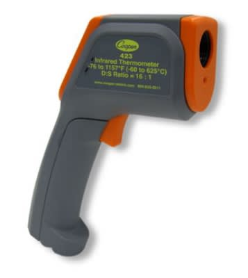 Cooper 423-0-8 Gun Style Infrared Thermometer w/ Range Laser, -76 To 1157-Degrees F
