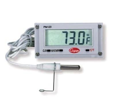 """Cooper PM120-0-8 Digital Type Mini Remote Thermometer w/ 39"""" Sensor rod"""