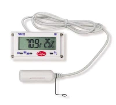 Cooper PMRH120-0-8 Panel Type Thermometer, -12 To 140-Degrees F