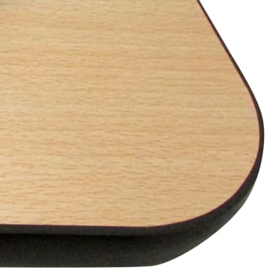 """Oak Street CN2424 24"""" Square Reversible Table Top, 1"""" Thick, Cherry & Natural"""