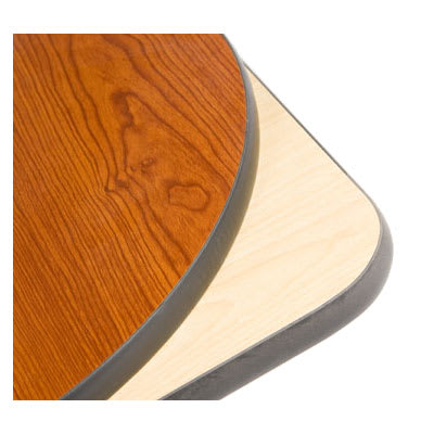 "Oak Street CN2430 Rectangular Reversible Table Top, 24 x 30"", Cherry & Natural"