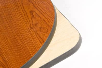 """Oak Street CN48R 48"""" Round Reversible Table Top, 1"""" Thick, Cherry & Natural"""