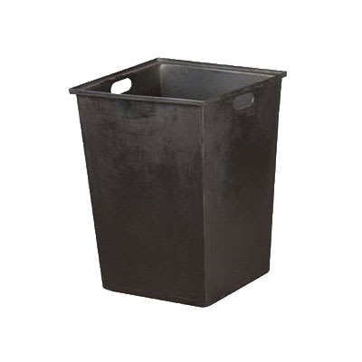 Oak Street DPI MD 6009 Tote Box w/ 20-Gallon Capacity & Hand Holes For M8520 Trash Cans