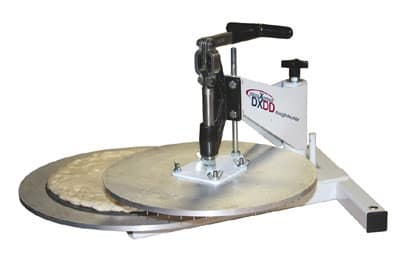 "DoughXpress DXDD-14 Manual Dough Docking Press, Interchangeable, 14"" Diagonal"