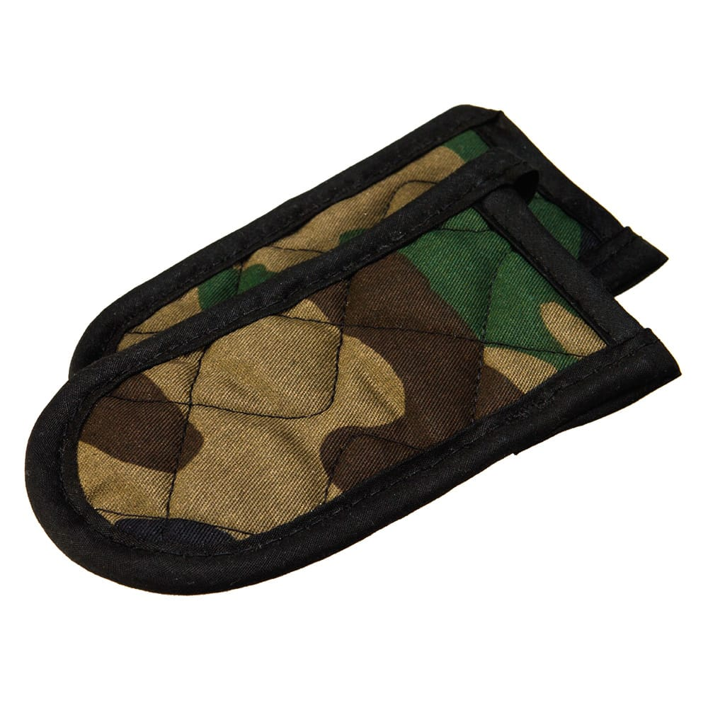 Lodge 2HHCAM2 Hot Handle Mitt Set w/ 2-Camouflage Print & Heat Protection to 250-Degrees
