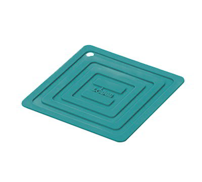 """Lodge AS6S39 5-7/8"""" Square Silicone Pot Holder - Turquoise"""