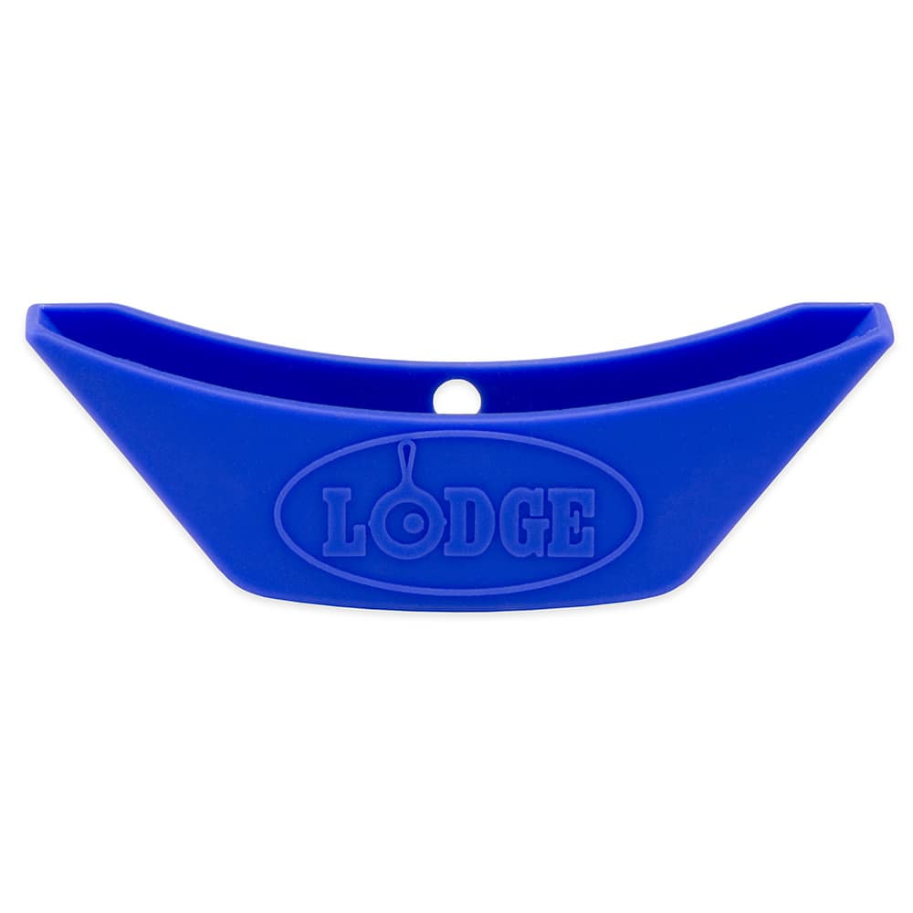 Lodge ASAHH31 Silicone Assist Handle Holder w/ Heat Protection to 450°F, Blue